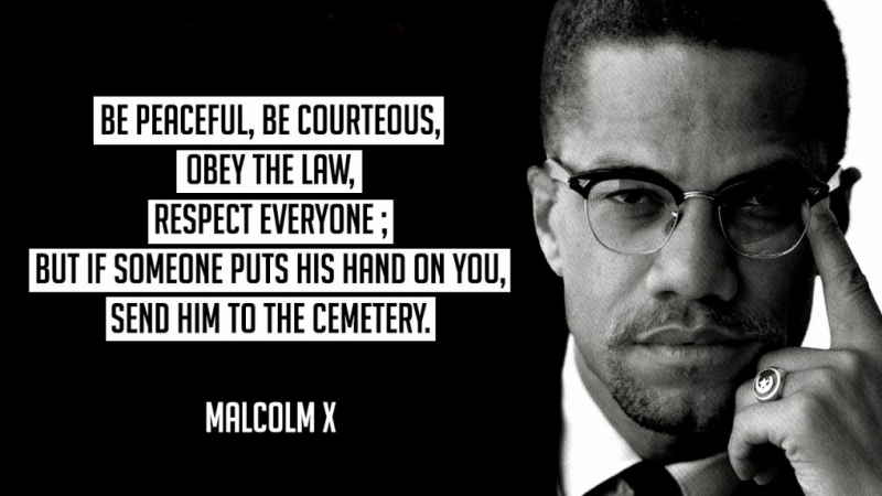 Malcolm Little Quote